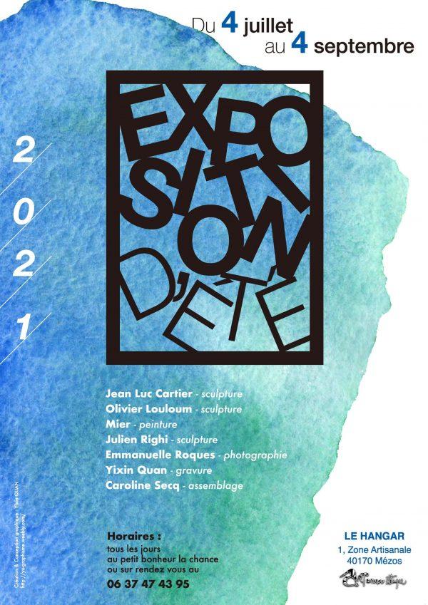 affiche expo mezos 2021